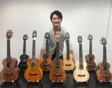 「山野楽器オリジナル占部ウクレレ」プロデュースド by 名渡山遼
