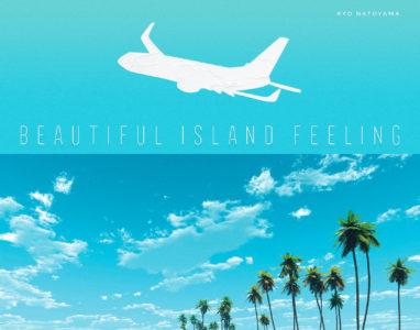 7月24日リリース,ニューアルバム『Beautiful Island Feeling』ジャケット写真公開!