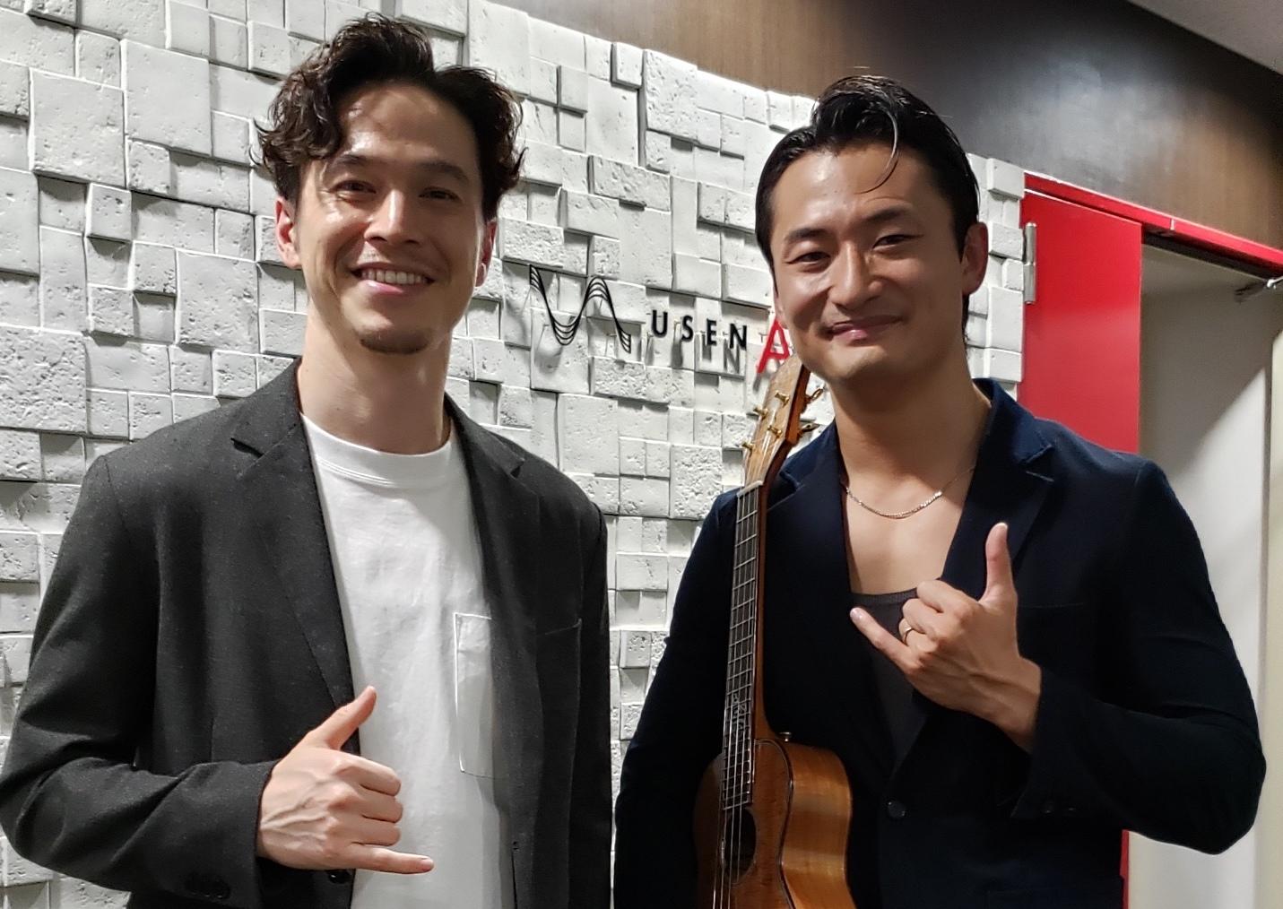 USENのトークプログラム「Music ⇔ Culture」にゲスト出演!