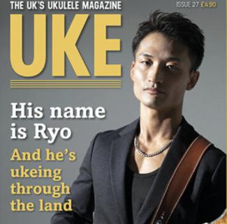 イギリス「 UKE MAGAZINE 」の表紙に 初の日本人プレイヤーとして 名渡山遼 が登場!